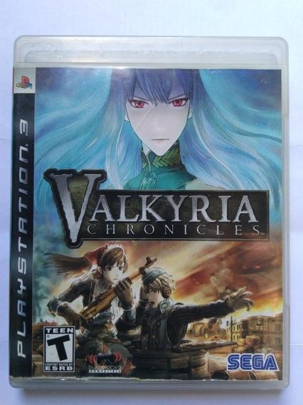 Jogo Valkyria Chronicles Ps3 Mídia Fisica Completo R$49,90