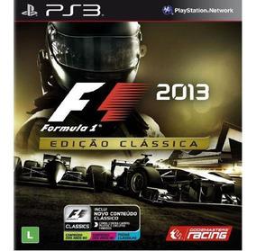 F1 2013 Mídia Digital Ps3 Psn Envio Agora