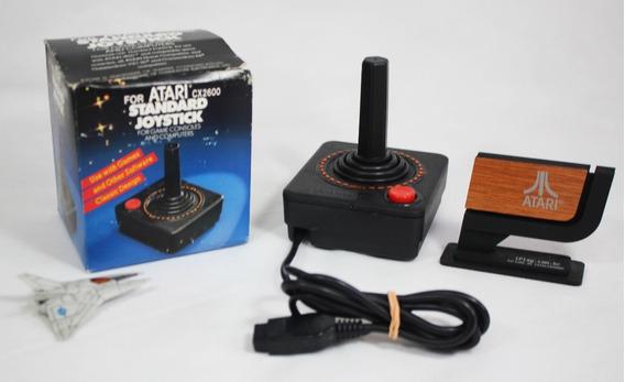 Joystick Novo [ Atari 2600 Cib ] Tipo Cx-40 Cx2600 Na Caixa