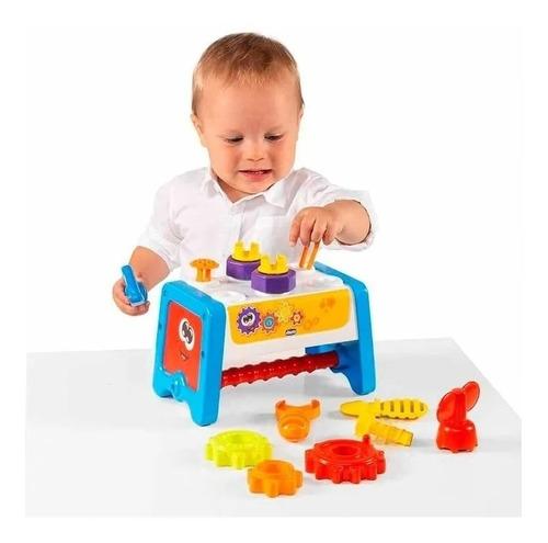 Juego/juguete Banco De Trabajo Chicco 2 En 1  Herramientas
