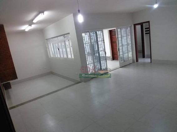 Casa Com 3 Dormitórios Para Alugar, 190 M² Por R$ 3.700/mês - Centro - Taubaté/sp - Ca2387