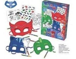 Pinta Tu Mascara Pj Masks Gecko Cat Boy Ululette