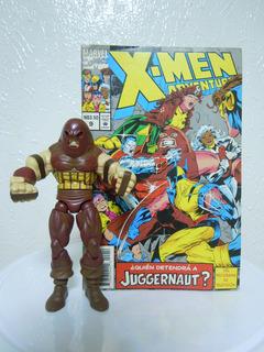 Pack De Jaggernaut Leviatan Marvel-hasbro Con Comic - X Man