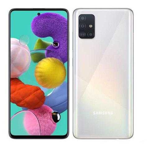 Samsung Galaxy A51 Branco 6.5 4g 128gb -sm-a515fzwbzto