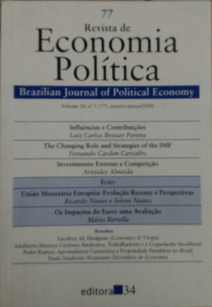 Revista De Economia Política Vol. 20 Nº1 Luiz Carlos Bresse