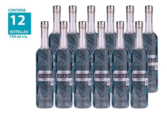 Tequila Moderno Plata 750ml (12 Piezas)