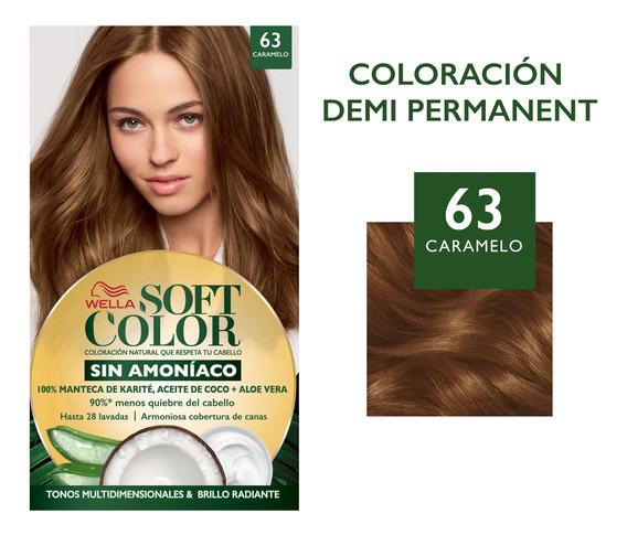 Tintura Wella Soft Color Semi-permanente - Todos Los Tonos