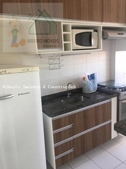 Apartamento Para Venda Em Cajamar, Portais (polvilho), 2 Dormitórios, 1 Banheiro, 1 Vaga - 0163