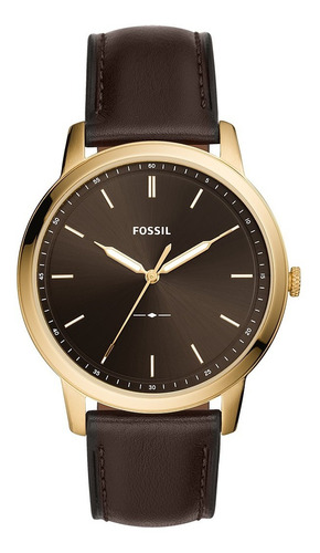 Reloj Hombre Fossil The Minimalist 3h Analogo