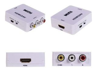 Adaptador Convensor Vga A Hdmi 720p 1080p Audio Video Gtía