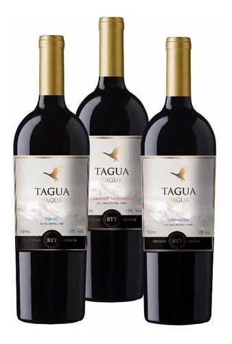Vino Tahua Chileno 750 Ml (6 Unidades)
