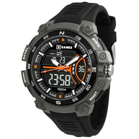 Relógio Xgames Xmppa256 Pxpx Cinza Preto Masc - Refinado