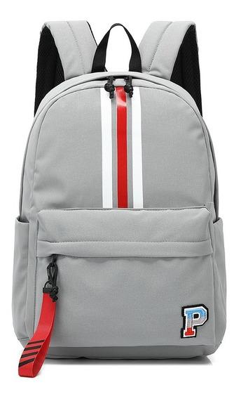 Mochila Colegio Escuela Primicia Cool Pack 41630 Gris