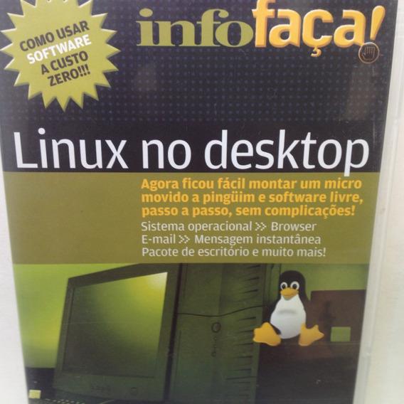 Cd-row: Linux No Desktop - Infofaça