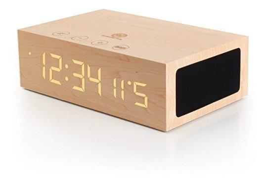 Bluetooth Reloj Despertador Digital Altavoz Por Gogroove Tym