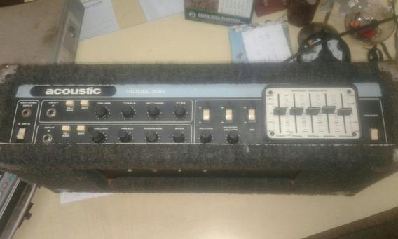 Cabezal Acoustic 330 1978 Muy Buen Estado. Parte De Pago