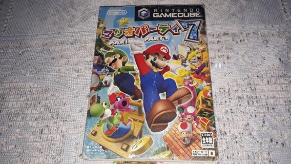 Mario Party 7 Completo Nintendo Gamecube Japonês