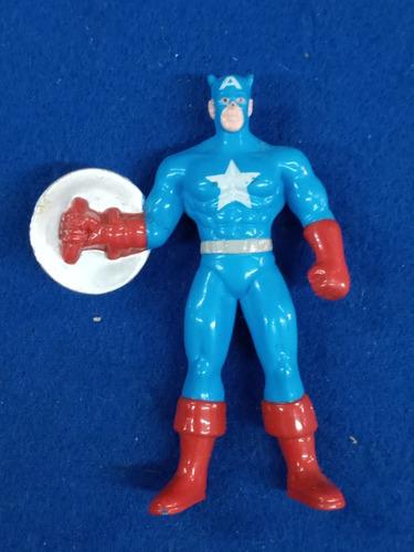 Imagen 1 de 2 de Capitan America * Superheroes * Coleccion Jack Grande *