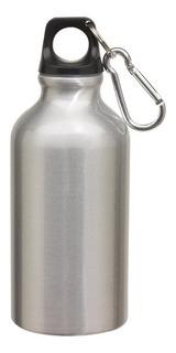 Botella De Aluminio 400ml Con Mosquetón