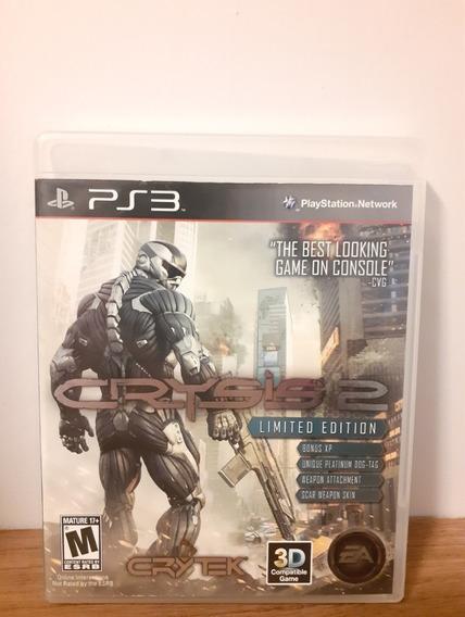 Jogo Crysis 2 Playstation 3 Mídia Física (impecável)