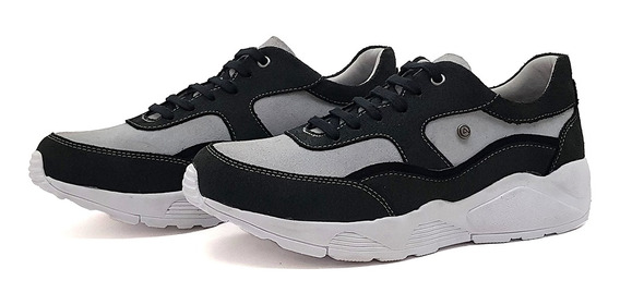Tênis Masculino Chuncky Sneaker Casual Couro Scott Cores