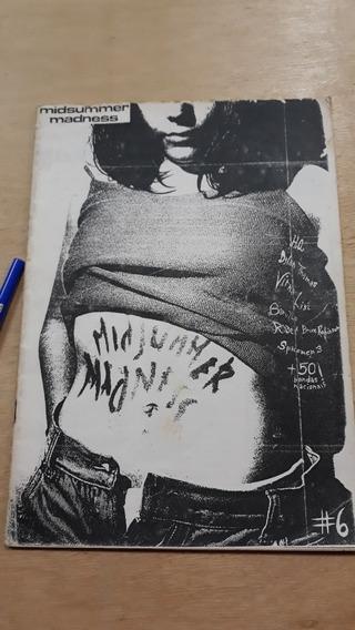Fanzine Midsummer Madness #6 1993 Raro Cultura Alternativa