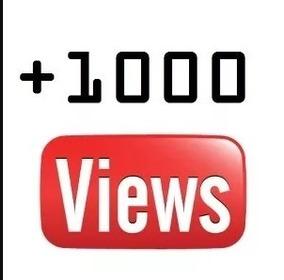 Marketing Youtube! 1.000 Vi-su-al-iz-acões! Reais! Agora