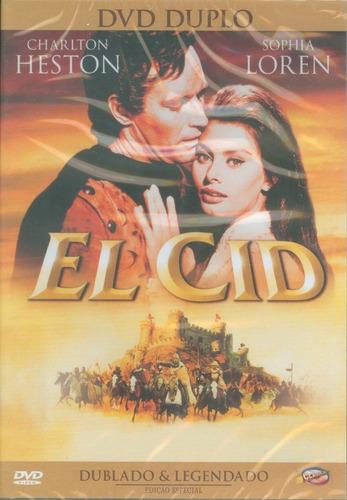 Dvd  El Cid Charlton Heston E Sophia Loren