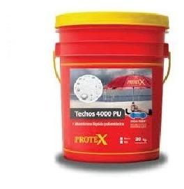 Protex Techos 4000pu 20kg-membrana Liquida Poliuretanica