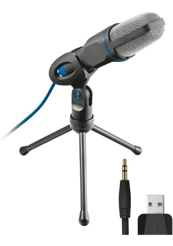 Microfono Usb Y Plug Ajustable TriPod
