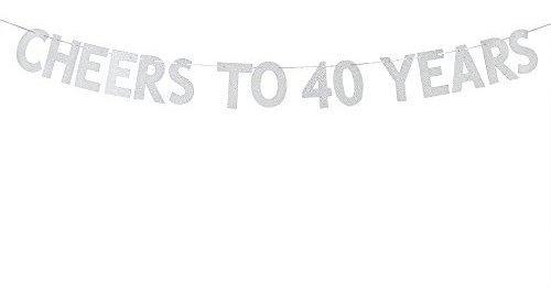 Webenison Aplaude A 40 Años Banner Feliz 40 Cumpleaños Fie