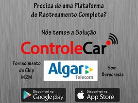 Chip M2m Algar Multiconnect Com Plataforma De Rastreamento