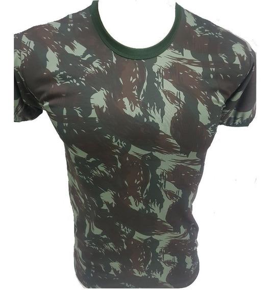Camiseta Camuflada Dry Fit Com Nota Fiscal