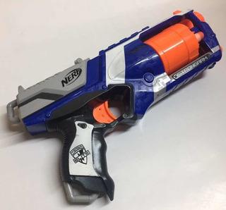 Pistola Juguete Nerf N-strike Strongarm Usada