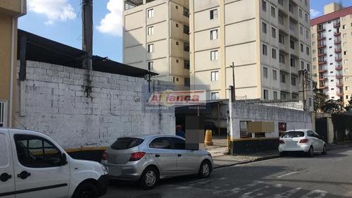 Terreno À Venda, 1300 M²- Macedo - Guarulhos/sp - Ai12276
