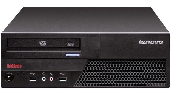 Cpu Desktop Lenovo C2d E8400 4gb Ddr3 Hd 80gb Dvd Wifi