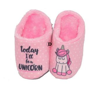 Pantuflas Abrigo Nena Sweet Dreams Calzado Caballito Unicorn
