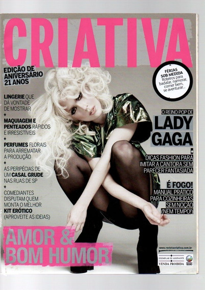 Revista Criativa Lady Gaga Nº 254 Ano 2010