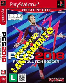 Pes 2018 Pro Evolution Soccer Lançamento Ps2