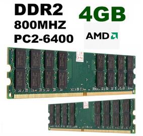 Ram Ddr2 4gb 800mhz - Para Proc. Amd.