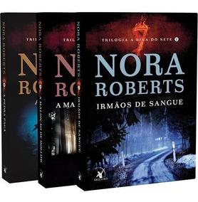 Kit 3 Livros - Trilogia A Sina Dos Sete - Nora Roberts #