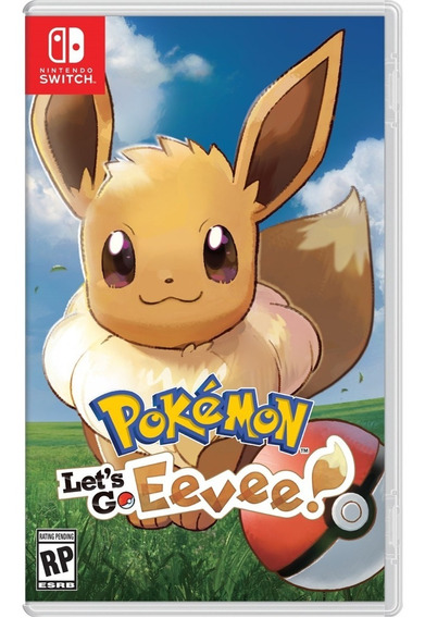 Pokemon Lets Go Eevee Switch Pronta Entrega Mídia Física