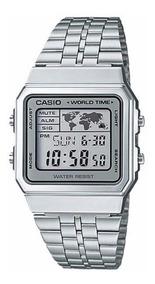 Relógio Casio Vintage World Time A500wa-7df ( Nota Fiscal )