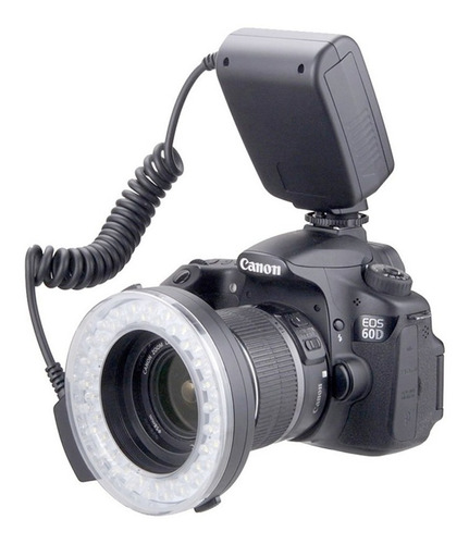 Flash Aro De Luz Digital Universal Macro Ring Light