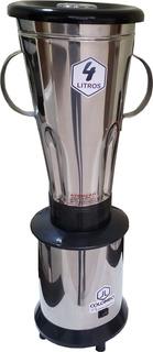 Liquidificador Industrial 4 Litros Alta Rotação Inox 1200w
