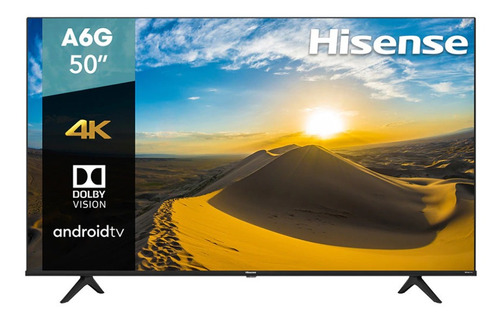 Pantalla Hisense Smart Tv De 50  4k/ultra Hd 50a6g