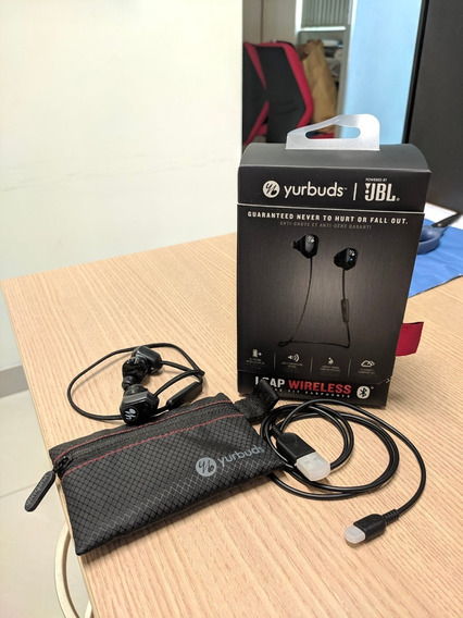 Fone Bluetooth Yurbuds Jbl Na Caixa