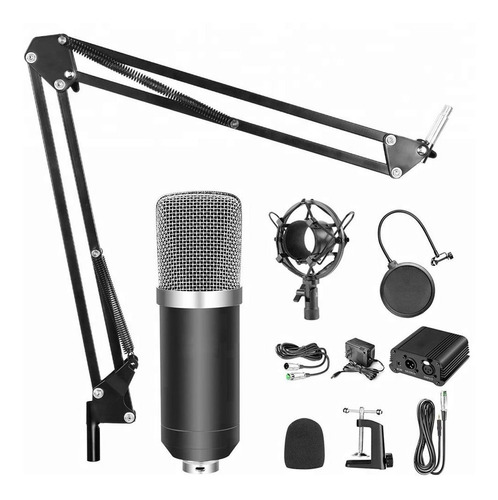 Micrófono Condensador Profesional De Alta Calidad Podcast
