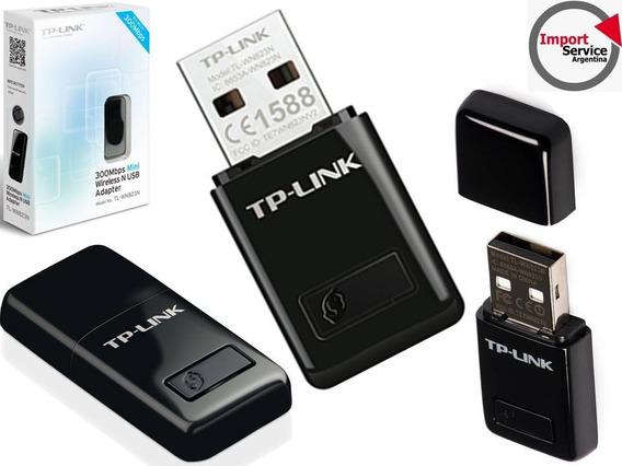 Adaptador Usb Wifi Tp Link Tl-wn823n 300mbps Mini Win8