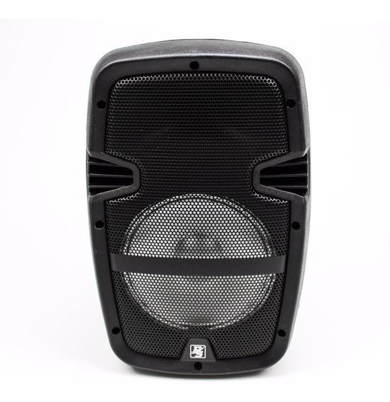 Caixa Som Portátil Bluetooth Amplificada Microfone Controle